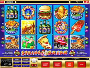 Spring Break Slot - Casino Game